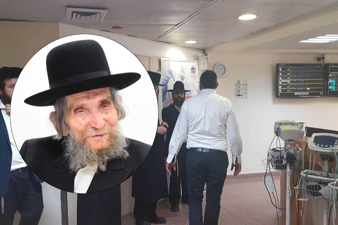העולם היהודי מתפלל: ראש הישיבה עבר בהצלחה את הטיפול הרפואי