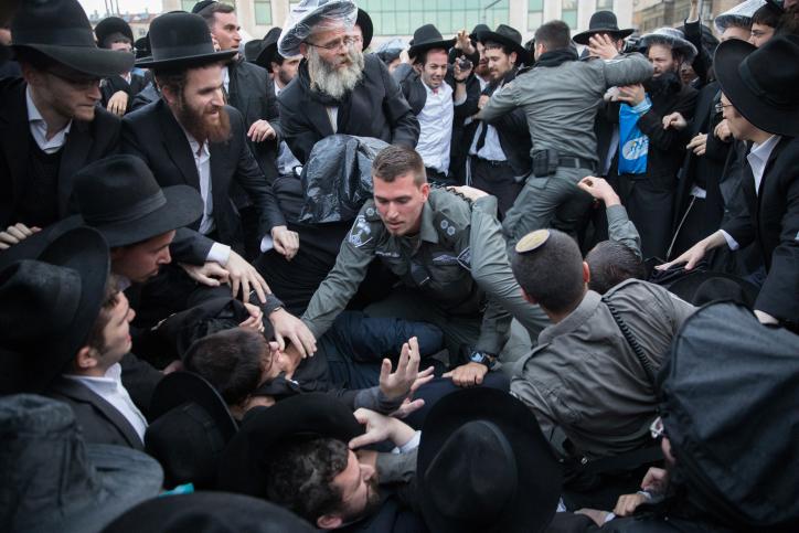 ממשיכים את המורשת: בפלג יוצאים להפגנה על מעצר בחור הישיבה