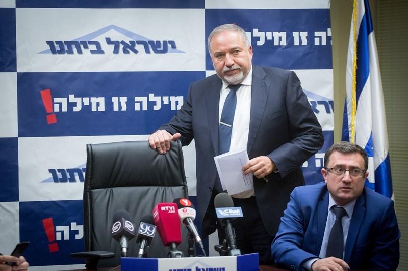 ישראל ביתנו מתנגדת לחוק המרכולים