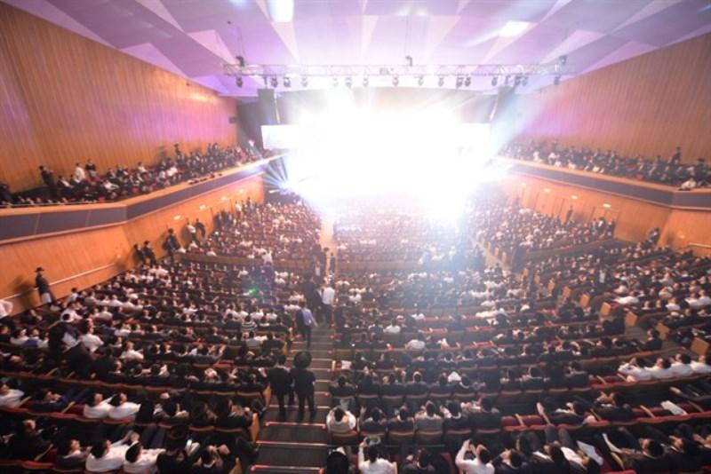 שבוע של חגיגת חסידות בבנייני האומה בירושלים