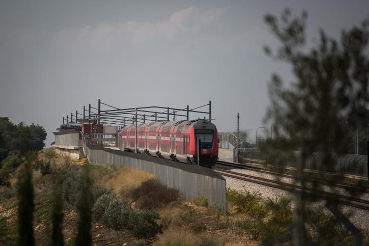 קו הרכבת המהיר לירושלים יפתח עד ליל הסדר