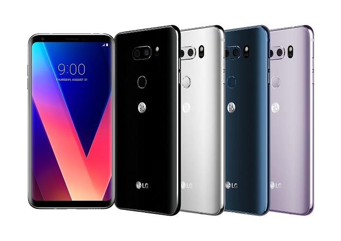 LG משיקה היום בישראל את         ה- LG V30+