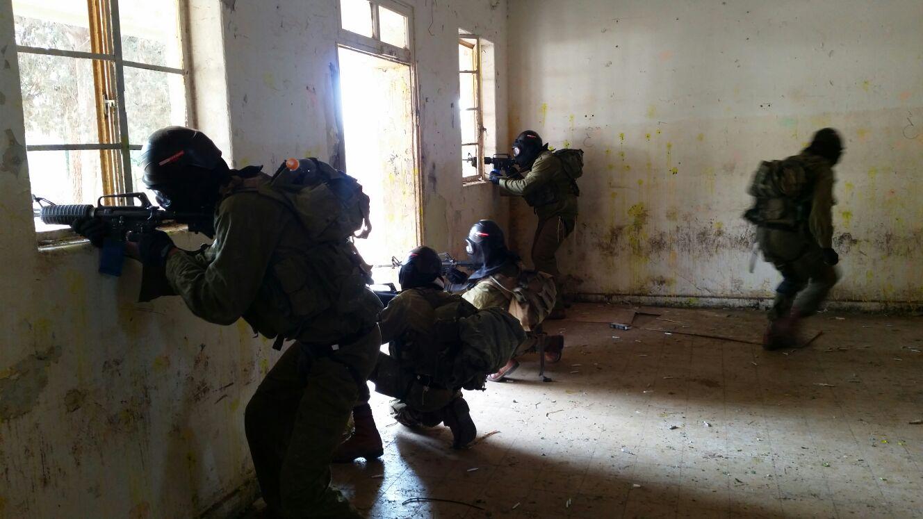 צפו: החיילים החרדים מתרגלים אויב תוקף