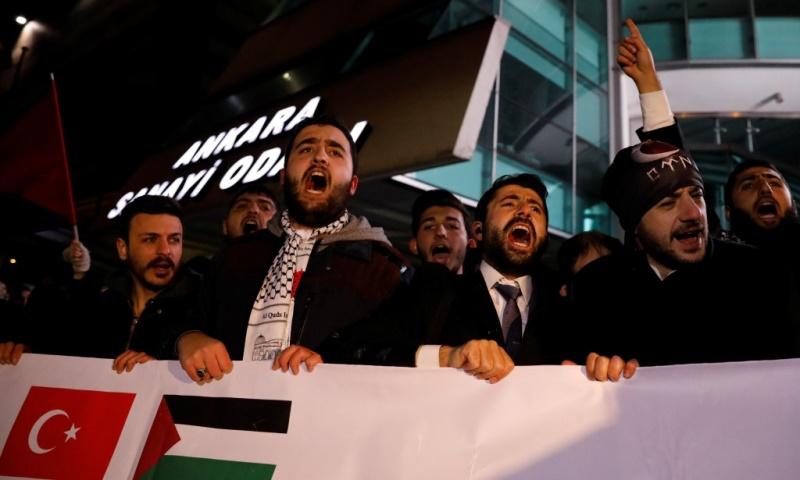 מפגינים בטורקיה, צילום: רויטרס
