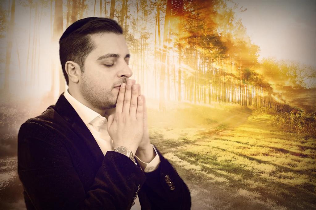 """לכבוד י""""ט כסלו: משה דוויק מרגש עם"""