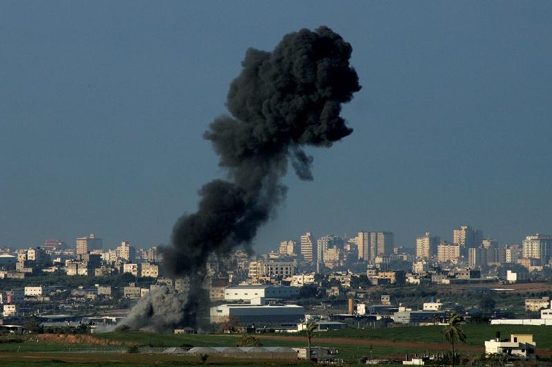 חיל האוויר תקף יעדי טרור בעזה