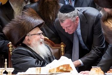 האורח בחתונת סקווירא: ראש עיריית ניו יורק