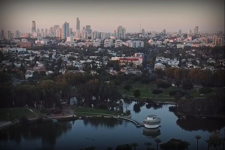 אפריקה בישראל: הרחפן מעל הספארי • צפו