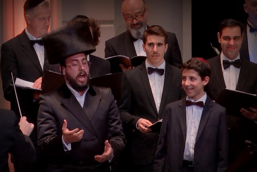 החזן ישראל נחמן כבש את בית הקונצרטים המלכותי של אמסטרדם ב-18 שניות • אדיר