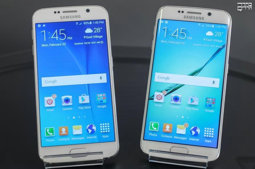 סמסונג השיקה את גלקסי S6 וה-S6 Edge