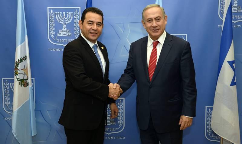 מדינה ראשונה מעבירה השגרירות לירושלים