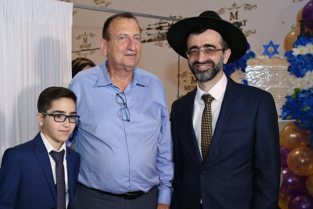 """ר""""ע תל אביב חגג עם הנציג מש""""ס • וידאו וגלריה"""