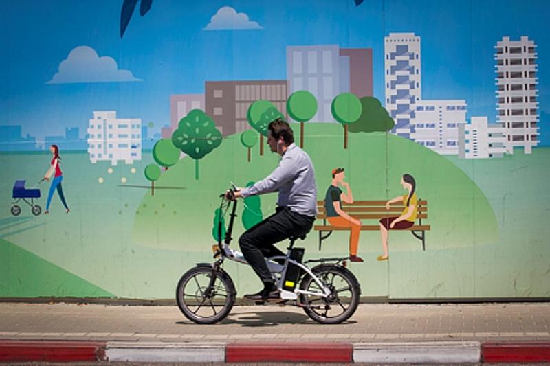 כל נסיעה באופניים החשמליים תסתיים בקנס