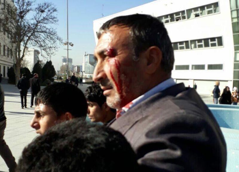 תיעוד: הפגנות סוערות באיראן נגד המשטר