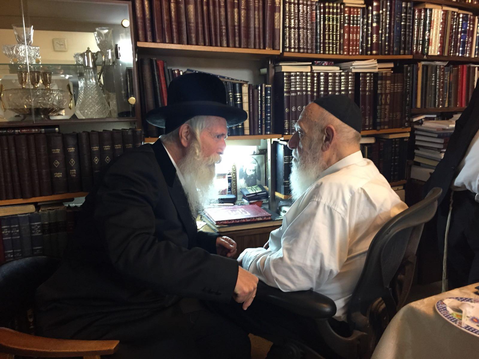 """גדולי ישראל על הגרלת הרב גרוסמן: """"המסייעים על ידו יתברכו בבנים טובים"""""""