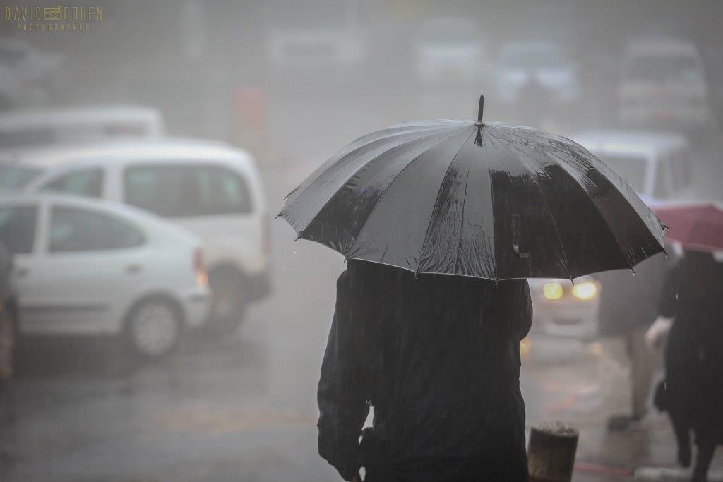 הסופה בעדשת המצלמה - גלריה מהעיר צפת