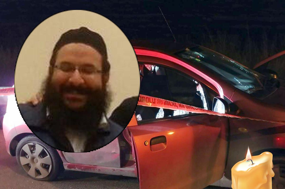 """פיגוע קשה סמוך לחוות גלעד בשומרון: הרב רזיאל שבח הי""""ד"""
