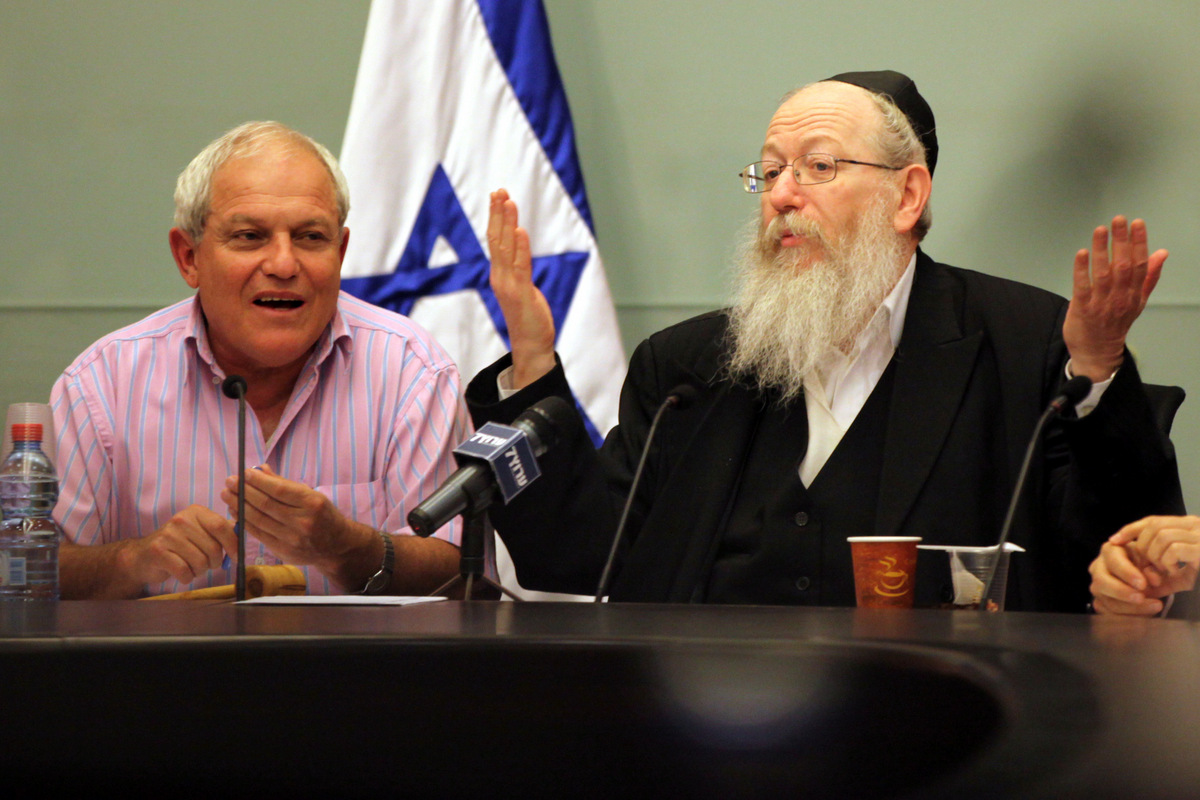עיתון הבית של סגן השר ליצמן מודה: חוק מסורת ישראל - בלוף