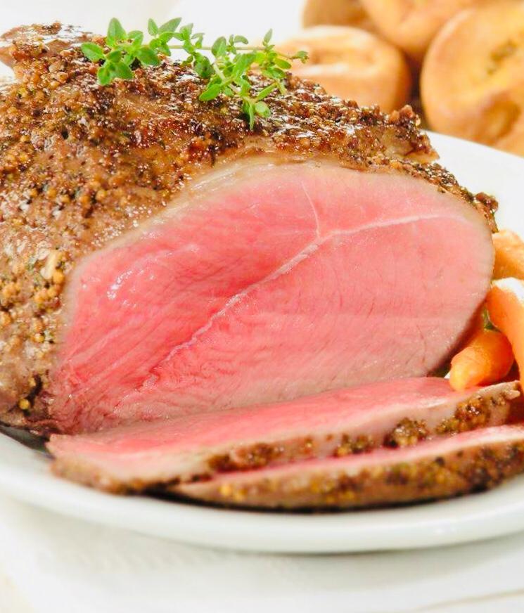 פחות שומן וסחוסים: מתכון לצלי בקר פרוס