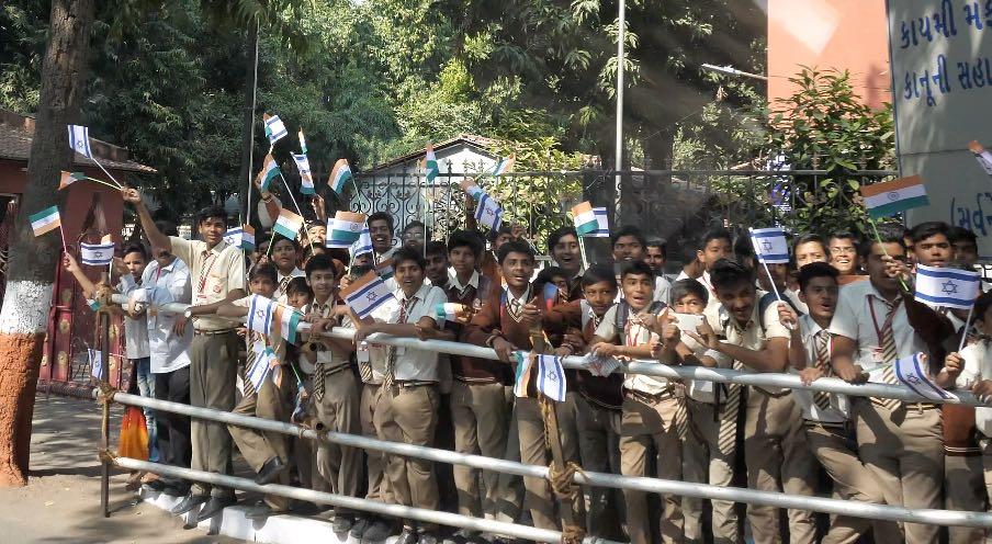 הודו ליהודים: עשרות אלפי הודים יצאו לרחוב