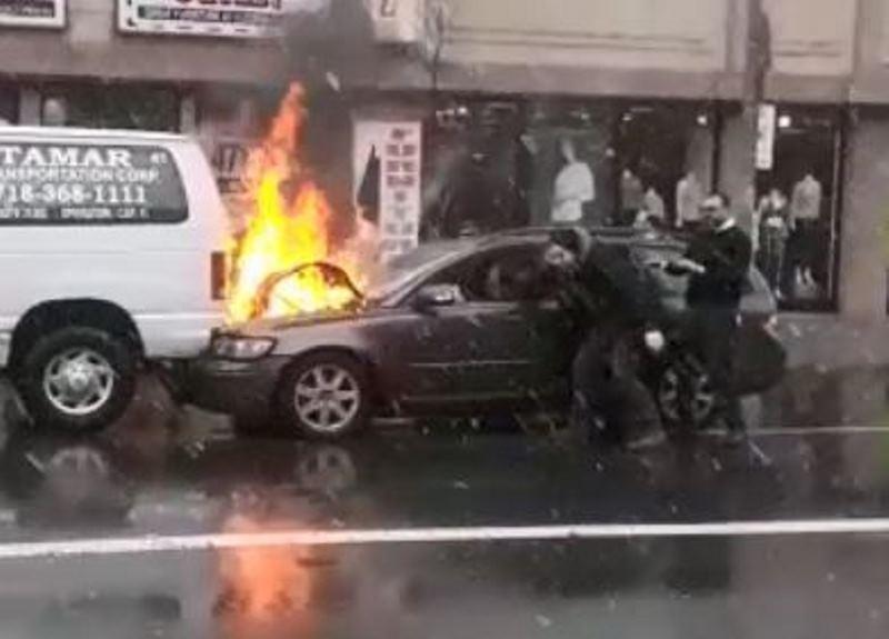 המתנדב החרדי חרף נפשו בתוך הרכב הבוער
