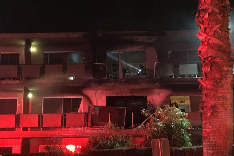 השריפה בשבת סאטמר בקליפורניה: האשה נבהלה וברחה - והחדר נשרף