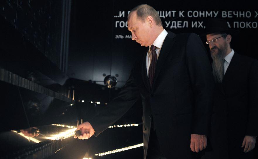 בגלל שבת: פוטין יכבד את זכרם של קרבנות השואה