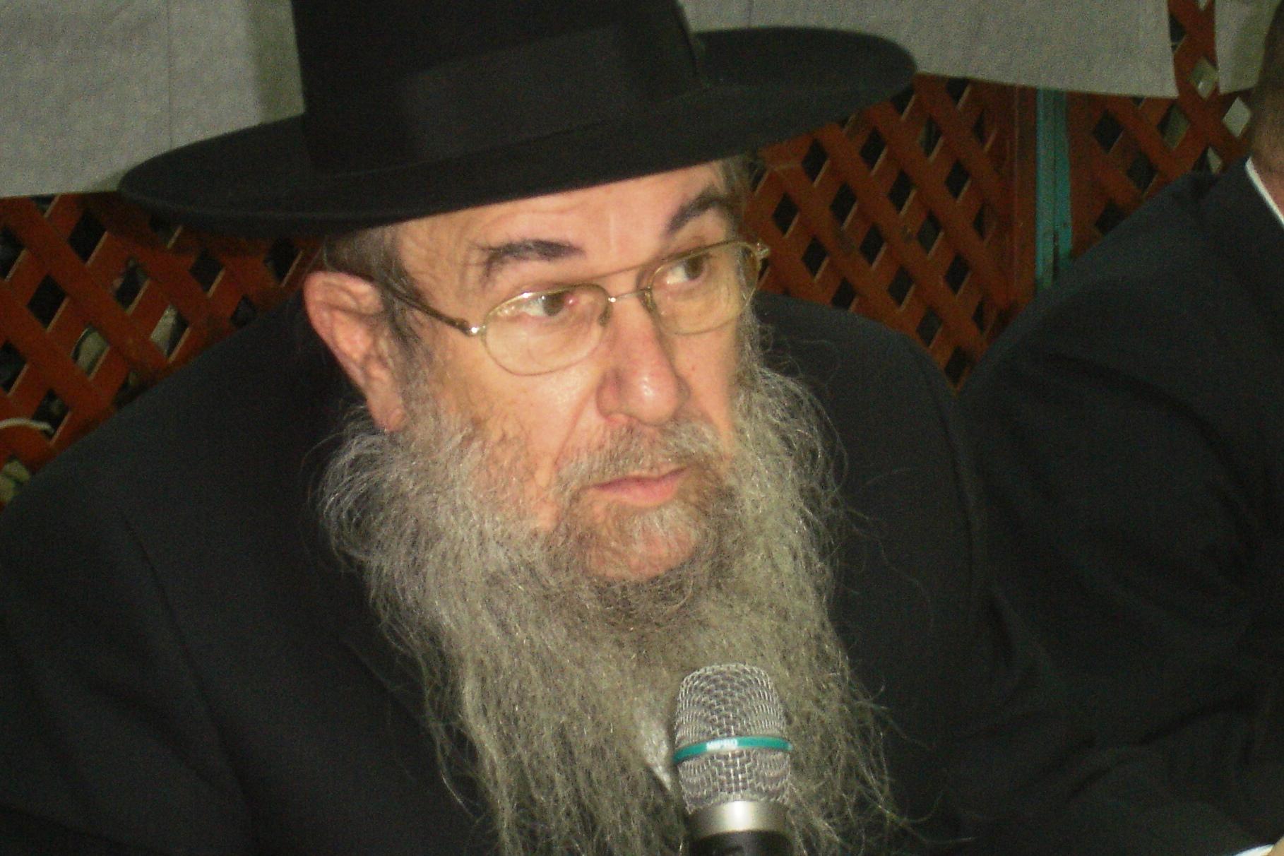 """מנהל הסמינר המיתולוגי: הרב משה רייס זצ""""ל"""