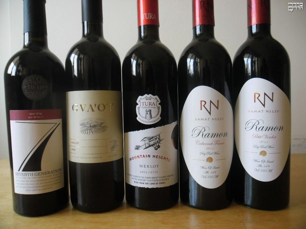 ארבע כוסות של יין איכותי ומובחר • ביקורת יין לחג
