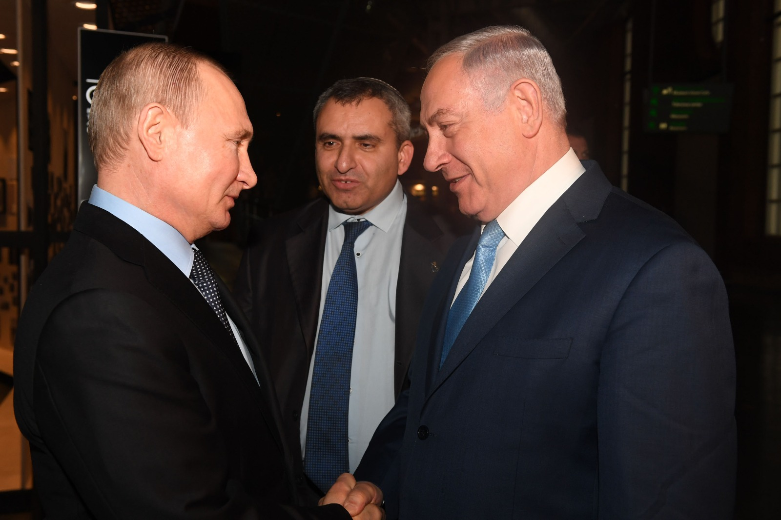 נאציזם איראן וסוריה: פגישת פוטין ונתניהו