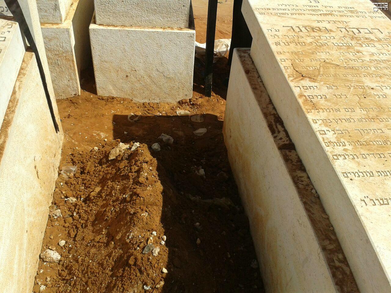 ווי להאי שופרא: קברו הטרי של פוסק הדור