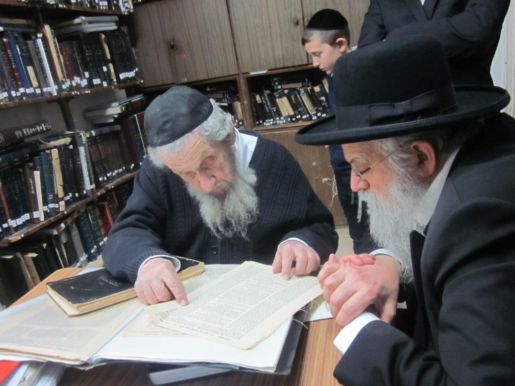 לקראת חתונת הבן: ראש הישיבה ביקר אצל גדולי ישראל