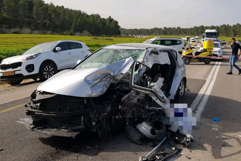 עקיפה קטלנית: בן 65 נהרג בתאונה בדרום