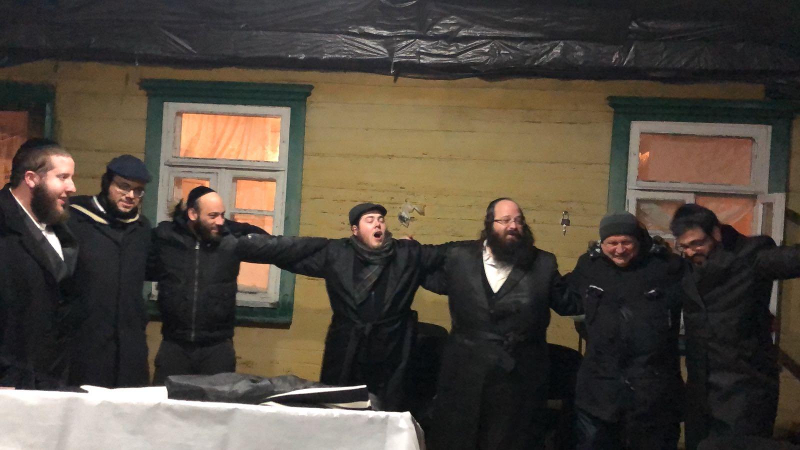 בעיירה הקפואה באוקראינה: יהודים שבתו באולבסק