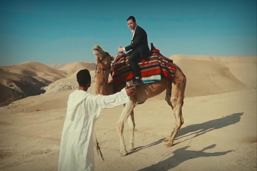 השבת כמעט ונכנסת, ואז מופיע הגמל במדבר