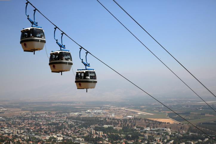 הממשלה החליטה: יוקם רכבל תיירותי בין נצרת עילית לתבור