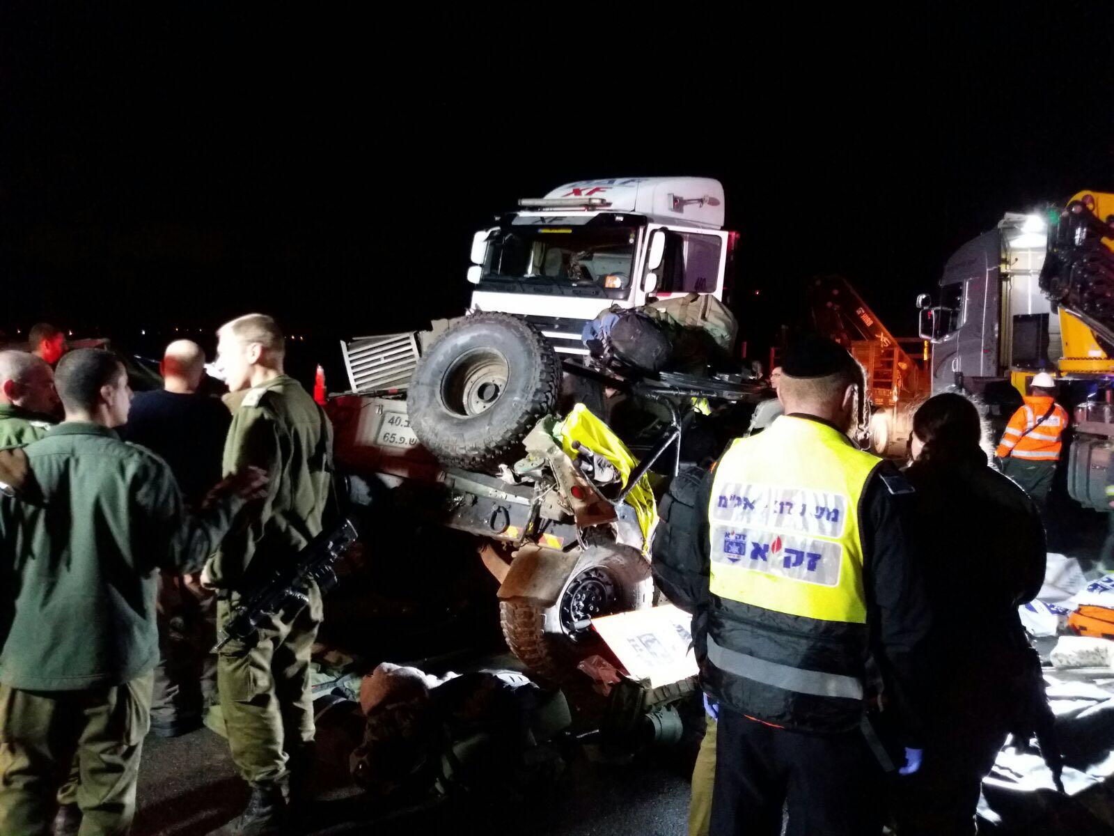 טרגדיה: שני חיילים נהרגו בתאונה מחרידה