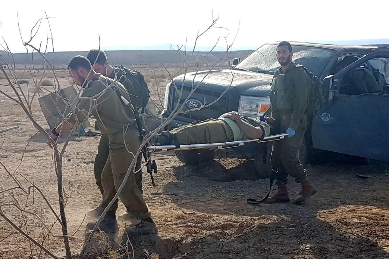 מוקש התפוצץ בבקעה, שבעה חיילים נפצעו קל
