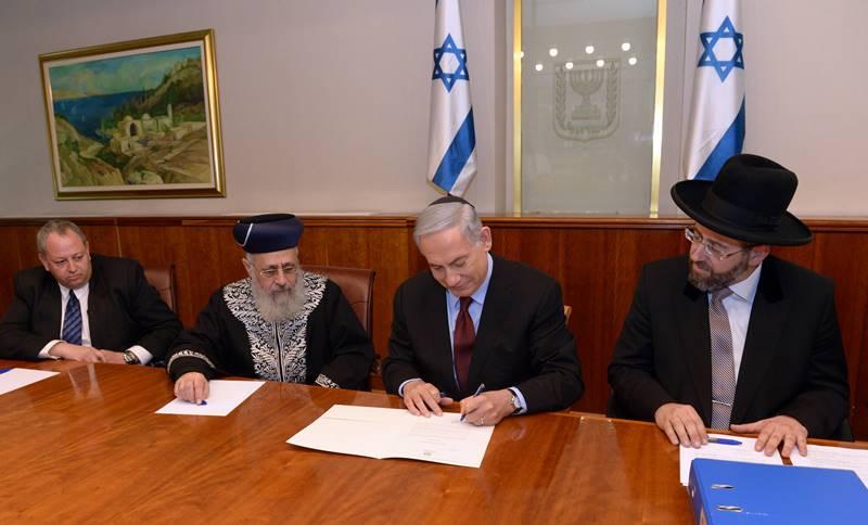 האם נתניהו רוצה לעקוף את הרבנים הראשיים
