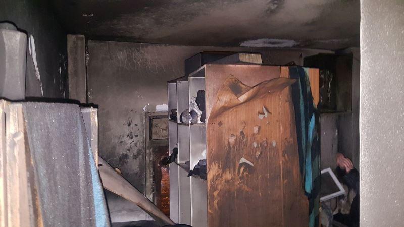 דירת הבחורים נשרפה - התפילין ניצלו • צפו