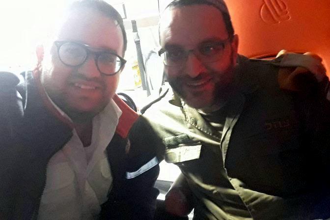 """פרסום ראשון: קצין צה""""ל שהותקף בירושלים - רב פיקוד העורף"""