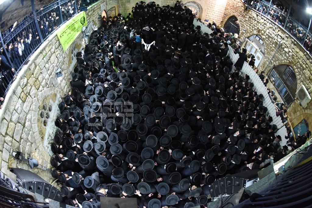 כשהרבי מסאטמר כבש את מירון: גלריה שניה מהמסע בישראל