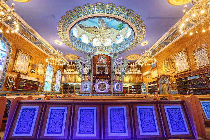 צפו: האם זהו בית הכנסת הכי מפואר בישראל