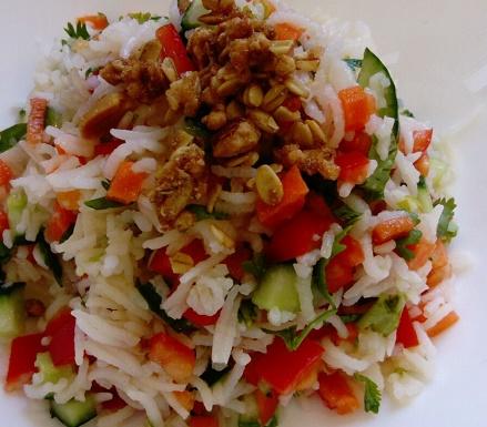 רגע לפני סעודת פורים: סלט אורז חדשני