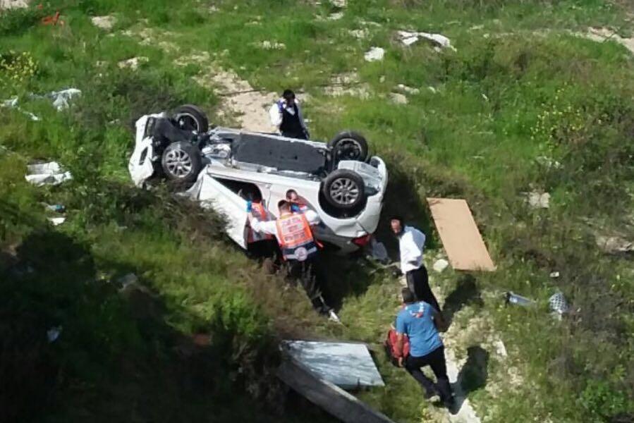 אסון: 2 הרוגים ו-4 פצועים בתאונת פגע וברח