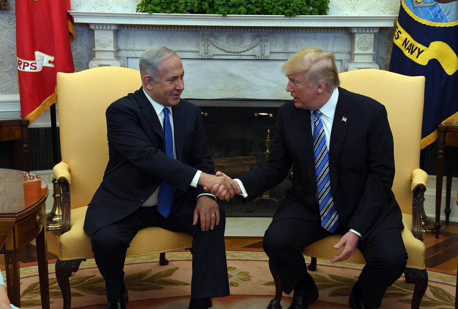 """טראמפ: """"ייתכן ואגיע להעברת השגרירות"""""""