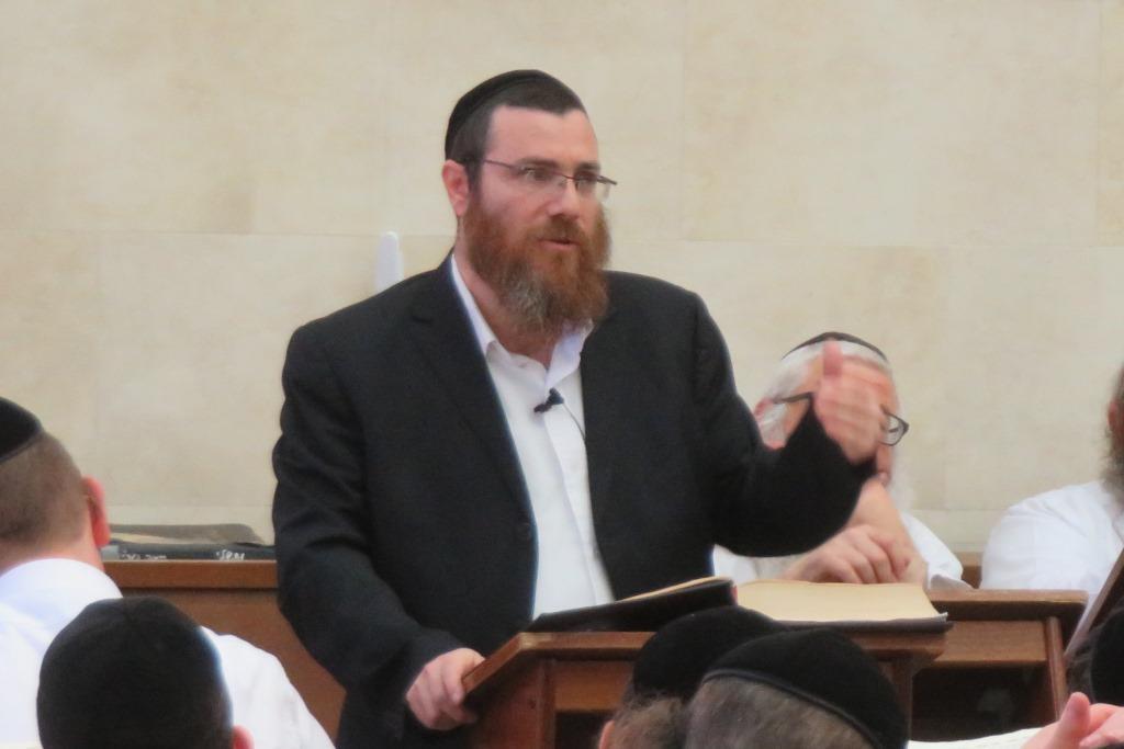 ההמשך בישיבה: הרב פטרוף מסר שיעור ראשון