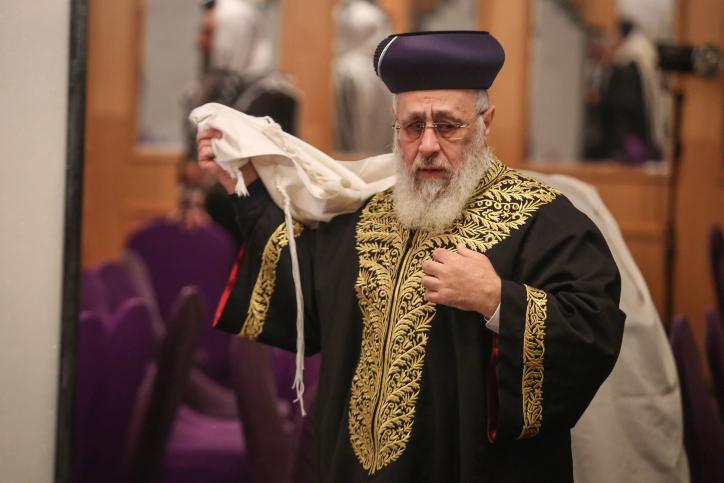 """""""מחטף"""": מועצת הרבנות תתכנס בלי הראשל""""צ"""