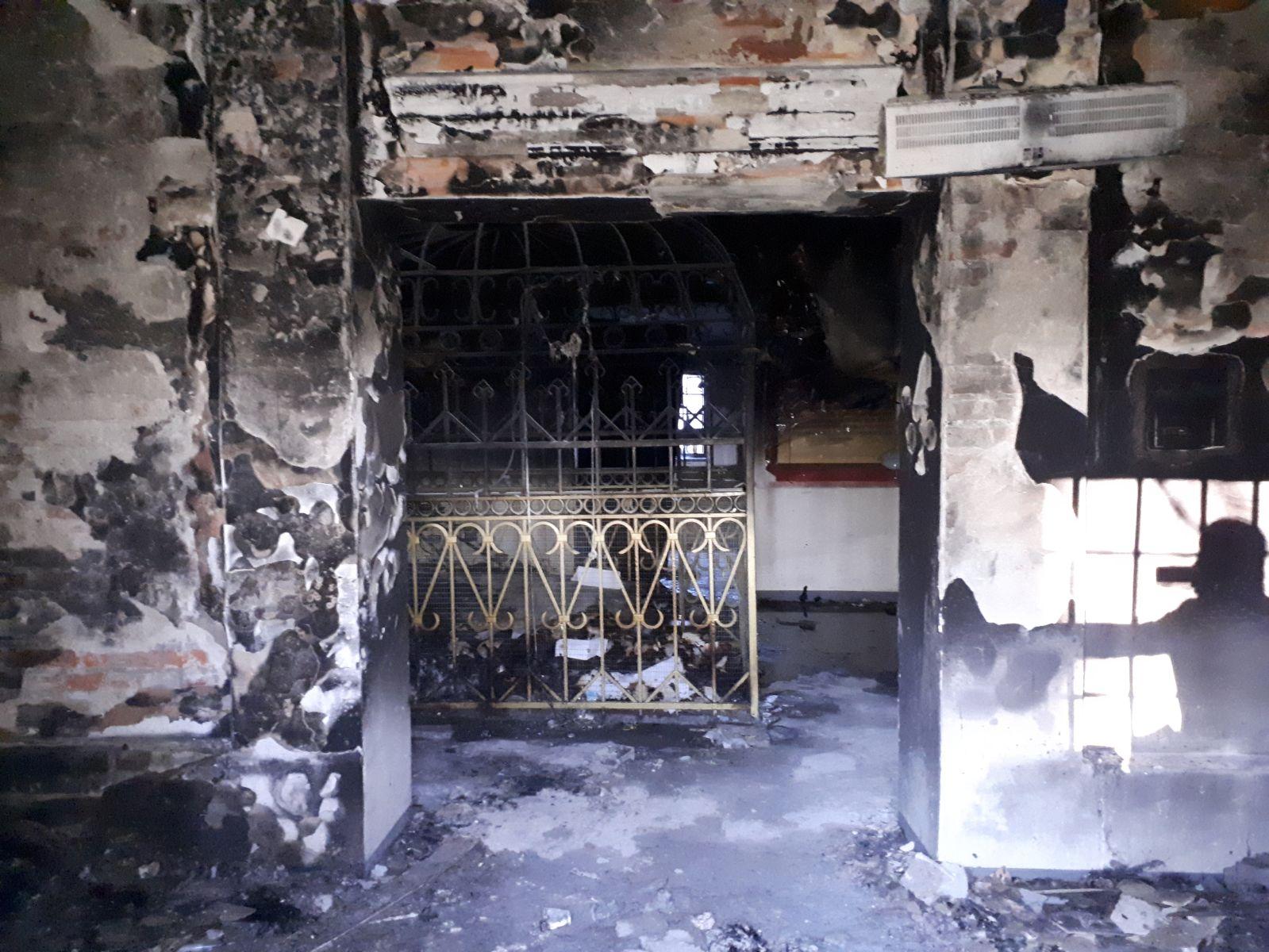 ולא חסרונו: ציון רבי מיילך לאחר השריפה