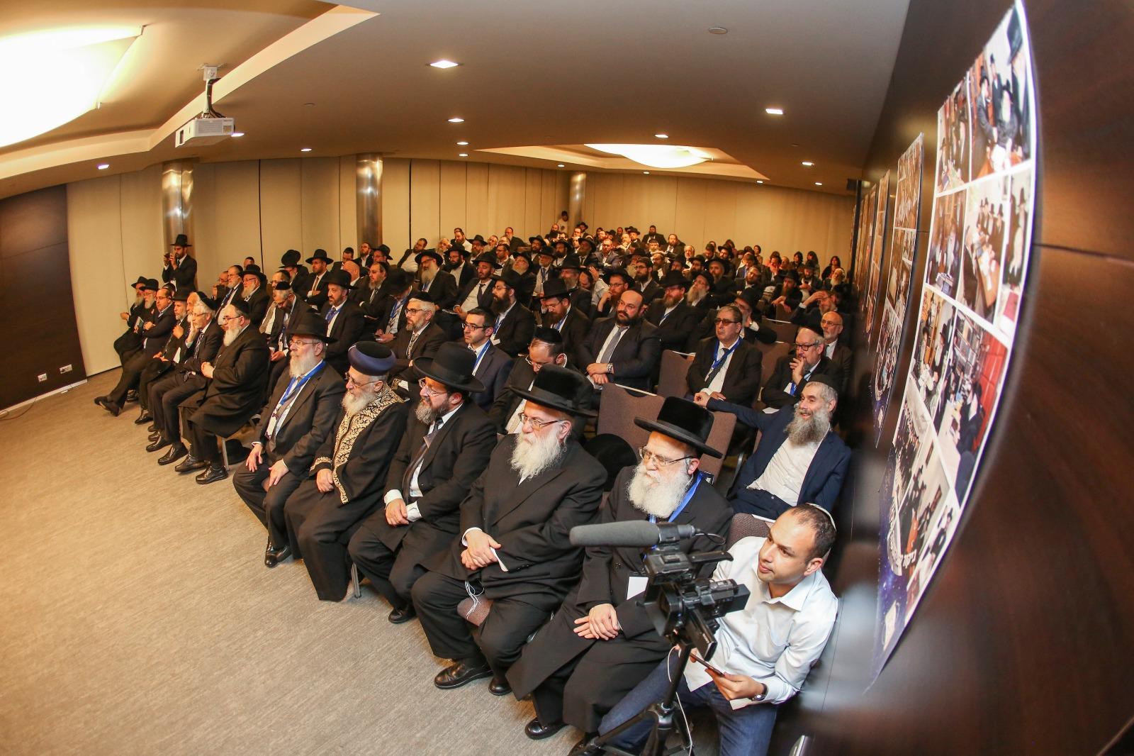 הרבנים בכנס הפתיחה. צילום: איציק בלניצקי